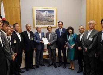 「国土強靱化税制」の整備・創設の要望活動を実施(8/27)