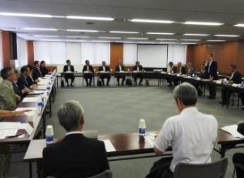 会員大学・学校法人との懇談会(8/31)報告