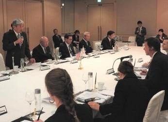 「ハガティ駐日米国大使と中部経済界とのビジネス懇談会」を開催(11/20)