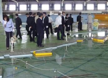 中経連・防災特別委員会が現地視察会を開催