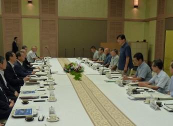 静岡県との懇談会を開催