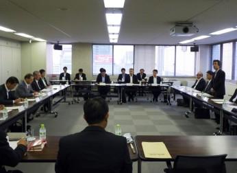 中部地方整備局と「中部地域懇話会」を開催