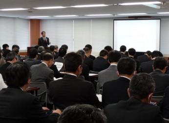 企業防災連絡会「名古屋港における災害対応力の強化について」講演会を開催