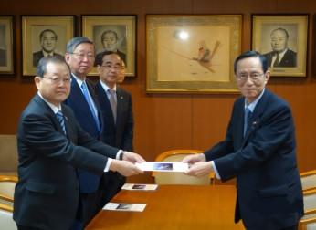 三田会長が「中部国際空港拡充議員連盟」設立総会に出席。二本目滑走路、完全24時間化等を要望