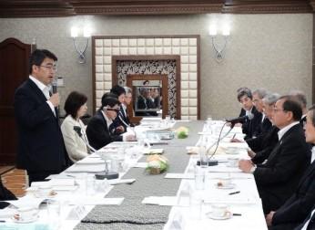 愛知県との懇談会を開催