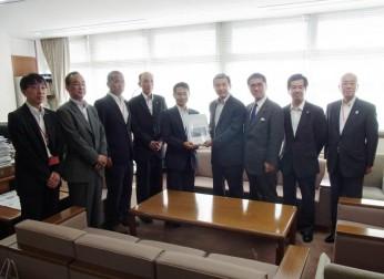 中部国際空港拡充議員連盟陳情会ならびに中部国際空港機能強化に係る要望活動