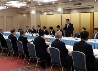 岐阜県との懇談会を開催