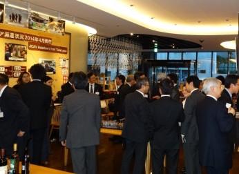 国際交流懇談会が「留学生と企業関係者の交流会」を開催