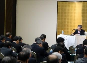 日銀総裁と中部経済界との金融経済懇談会(11/25)報告