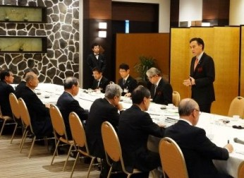 長野県との懇談会を開催(4/14)