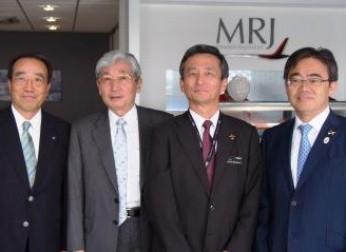 豊田会長がファンボロー国際航空ショーを訪問(7/12)