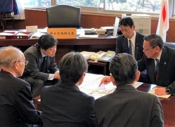 名古屋環状2号線の整備促進を要望(2/12)