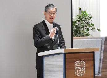 中部圏イノベーション推進機構が第1回定時総会を開催。同機構の新会長に水野中経連会長が就任(6/12)