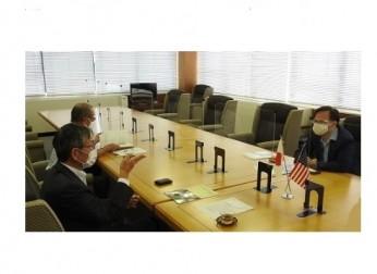 在名古屋米国首席領事 表敬訪問(8/31)