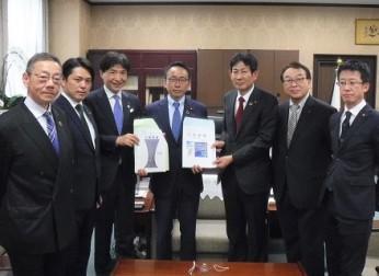 道路の整備促進、防災対策等について要望活動を実施(2020年10月)