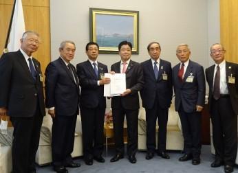 西日本経済協議会 第62回総会決議を要望(11/19)