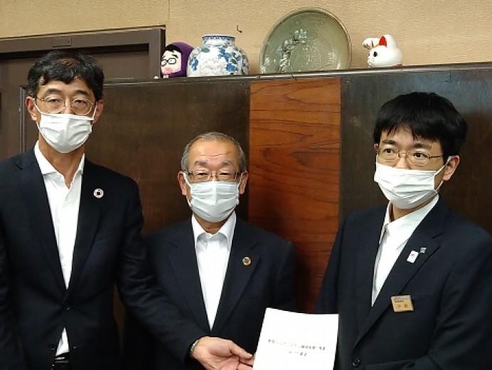 「新型コロナワクチン職域接種の推進に向けた要望」を愛知県に対して実施(6/17)