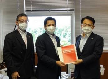 愛知県における広域幹線道路網などの整備推進を要望(7/14)