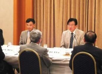 静岡県との懇談会を開催(9/19)