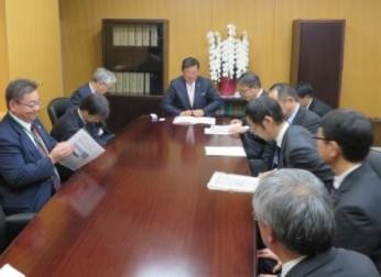 国際戦略特区「アジアNo.1航空宇宙産業クラスター形成特区」の推進を要望(11/9、15、16)報告